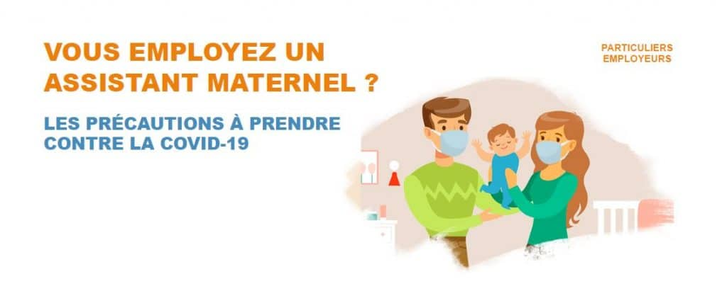 assistant maternel precautions covid 19