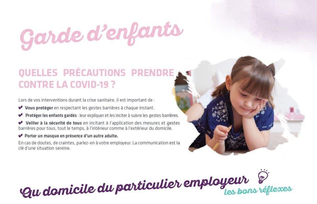 garde d'enfants covid 19 precautions